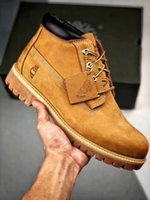 Wholesale shoes like boots resale online - high quality sell like hot cakes martin Outdoor Shoes Waterproof tree card designer shoes leather Platform designer men boots women