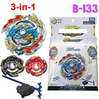 Wholesale Burst with Launcher Gyro Caps Metal Booster Spinning Top Gyro Starter Toys Battle Fight Toys Gifts for Children Boys LJ200923