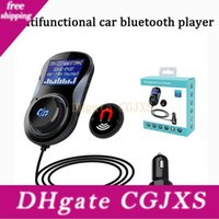 Wholesale usb mp3 device player for sale - Group buy Multifunctional In Dual Usb v a Car Charger Inch Display Fm Transmitter Sd Card Mp3 Music Player Handfree Car Device Kit