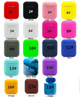 Wholesale airpods covers online – custom For Apple Airpods Soft TPU Ultra Thin Protector Airpod Cover Earphone Headphone Case With Retail Package
