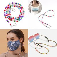 Wholesale glasses cords holders for sale - Group buy Fashion Eye Glasses String Holder Premium Glass Beaded Eyeglass Holders Around Neck Eyeglass Chain Cord for Women