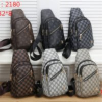 Wholesale mens fanny pack fashion resale online - hot new Mens Designer Waist Bags Fashion Luxury Crossbody Bag Male chestbag Fanny Pack Outdoor Brand Chest Bag Briefcase K
