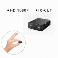 Wholesale New Smallest Mini Camera XD IR CUT Full P night vision Micro Camcorder DV DVR support motion detection