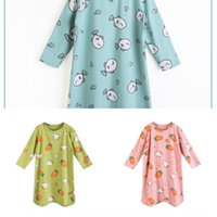 Wholesale boys one piece pajamas for sale - Group buy bj3hP Girls pajamas pajamas nightgown boys nightgown summer spring and autumn baby pure cotton children year old one piece autumn and wi