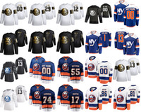 new york islander venda por atacado-New York Islanders 2020 All-Star jogo de hóquei no gelo Jerseys 4 Andy Greene 44 Jean-Gabriel Pageau 13 Mathew Barzal 27 Anders Lee personalizado costurado