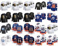 Wholesale new jerseys custom resale online - New York Islanders All Star Game Ice Hockey Jerseys Andy Greene Jean Gabriel Pageau Mathew Barzal Anders Lee Custom Stitched