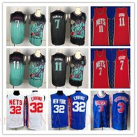 Wholesale durant gold resale online - Retro Vancouver Kevin Durant Brooklyn Nets Jersey Vintage Kyrie Irving Julius Erving Alex Petrovic Basketball Jerseys