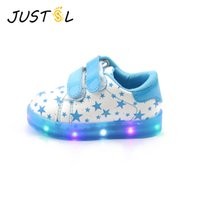 Wholesale baby shoes shine for sale - Group buy Children s New Shine Sports Boys Girls Non slip Fashion Sneakers Baby Toddler Led Shoes for Kids Size21