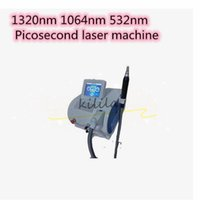 Wholesale tattoo remove laser resale online - 755 nm laser pico laser therapy qswitch nd yag laser tattoo remove dark skin spots picosecond beauty machine with tips