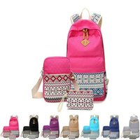 Wholesale laptops for students resale online - Navy And Student School Case Laptop Bag And For Backpack Shoulder Girls Pen Boys Bookbag Canvas With Lightweight Bags Teen qylFj