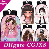 Wholesale princess girl bedding for sale - Group buy Cute Cartoon Girls Princess Backpack Great Mom Women Rucksack Children School Bags For Teenager Girls Student Backpack Bookbag