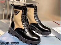 Wholesale mixed shoes boots for sale - Group buy Top Designer high quality leather women s boot gear platform combat boots platform platform shoes cowhide motorcycle Martin boot box