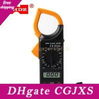 Wholesale ac voltage tester for sale - Group buy Whdz Digital Non Contact Clamp Meter Ac Dc Current Voltage Temperature Tester Full Protection Design Lcd Display Detection V