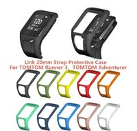 Wholesale Cardio Frame Tomtom spark Cover spark Case Shockproof Runner Watch Shell Anti scratch Quality Protective For High longdrake SssIy