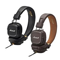 Wholesale 4.2 bluetooth resale online - Marshall Major II Latest folding wireless Bluetooth headset high definition mic stereo music Noise reduction headset