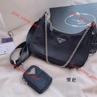 Wholesale hand shoes resale online - 2020 shoulder bag ladies ladies hand chain bag presbyopia messenger bag Wallet design Canvas
