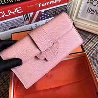 Wholesale litchi wallet purse resale online - Designer handbags women s cluth wallet H bag litchi pattern fashion coin card wallets purse women bag