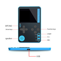 Wholesale electronics stores resale online - Palmtop mini electronic game console can store game Kids Toys game console christmas gifts Free DHL