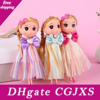 Wholesale model small boys girls resale online - Lace Confused Toy Doll Bag Pendant Caught Doll For Boys And Girls Small Pendant Children Gift Kids Toys