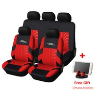 Wholesale full tires for sale - Group buy AUTOYOUTH Car Seat Covers Full Set Universal Fit Seat Protectors Fashion Car Accessories Tire Tracks Car Styling Red