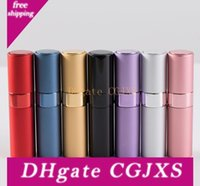 Wholesale accessories for travel for sale - Group buy 8ml ml Rotatable Perfume Bottle Empty Refillable Spray Bottle Atomizer For Perfume Bottles Portable Travel Bottles Accessories Sn84