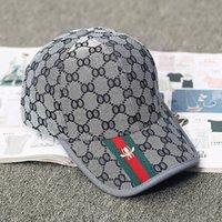 Wholesale military peak hat for sale - Group buy Hot Sale Men Women Hats Fashion Trends Bee Baseball Caps Sun Cap Casquette Peaked Cap