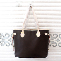 Wholesale fashion fabric backpacks resale online - Medium size bag with wallet new fashion Women casual Handbags lady famous designer bag PU leather travel bags female purse set