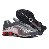 Wholesale shox deliver for sale - Group buy Discount men shox deliver NZ R4 top for women basketball running sneakers sport lady crystal lace flat casual shoes best sale