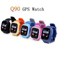 Wholesale android wear for sale – best Q90 Bluetooth Smartwatch with GPS WiFi LBS for iPhone IOS Android Smart Phone Wear Clock Wearable Device Smart Watch Colors