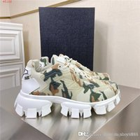 Wholesale wheel shoes for sale - Group buy Mens and womens new autumn winter Camouflage printed space shoes Serrated wheel block shoes with thick soles With original box