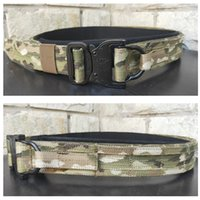 Multicam Army Belt Tactical Molle Shooting Fighter Belt Combat Gear Hunting Double Layer Hard 3.8CM Wide