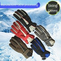 Wholesale skiing gloves sale for sale - Group buy jEYKJ Factory sales new men s winter outdoor sports warm Outdoor sports Warm ski gloves motorcycle cold proof windproof waterproof gloves