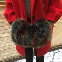 Wholesale hand gloves for ladies for sale - Group buy Real Fur Women hand Warmer For Winter New Arrival Ladies Genuine Fur Hand Warmers Can used As Bag