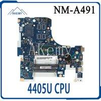 Wholesale lenovo ideapad motherboards resale online - For Lenovo ideapad ISK BMWD1 NM A491 Laptop motherboard SR2EX U CPU