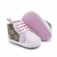 Wholesale baby boy newborn crochet shoes resale online - Newborn Baby Shoes For Kids Sneakers Fashion PU leather Boy Girl Walkers Baby Moccasins Toddler infant Crib Shoes