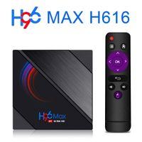 Wholesale original tv box resale online - Original H96 max H616 smart TV Box Android GB GB Netflix Youtube HD K Android TV Box PKT95 X96 max plus