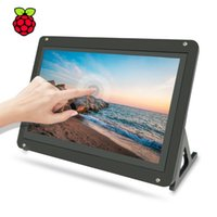 ingrosso lcd touch screen pi lampone-7 pollici touchscreen display del monitor, 1024x600 IPS touch screen LCD capacitivo HDMI per Raspberry Pi