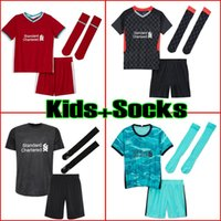 mayo futbol seti toptan satış-20 21 soccer jersey  2020 2021 football shirts kids kit sets with socks