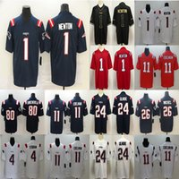 Wholesale patriot jersey resale online - Cam Newton Julian Edelman New England Patriots Jarrett Stidham Stephon Gilmore Football Limited Jersey