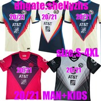 Wholesale kids mexico soccer jersey resale online - size S XL LIGA MX Club America Soccer Jersey youth mexico GIOVANI R SAMBUEZA O PERALTA Football Shirt Men Kids