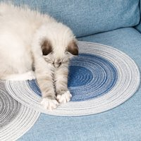 Wholesale pet cooling mats for sale - Group buy Cat Grinding Claw Pad Weaving Cotton Pad Summer Pet Bed Sofa Cooling Mats Heat Relief Cooling Mat Floor Mat New
