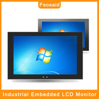 Wholesale tablet pc inches hdmi resale online - Feosaid inch industrial monitor quot Tablet LCD displays Monitor with VGA HDMI DVI TV AV USB input for pc x1080