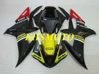 Wholesale parts yzfr1 for sale - Group buy Injection Mold Fairing Parts for YAMAHA YZFR1 YZF R1 YZF R1 YZF1000 R1 Black Fairings body kit gifts YK32
