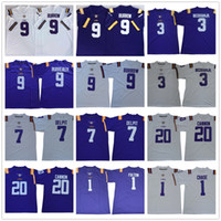 Wholesale odell beckham jr college jersey resale online - NCAA LSU Tigers Joe Burrow Burreaux Odell Beckham Jr Grant Delpit Leonard Chase College Football stitvhed men Jersey