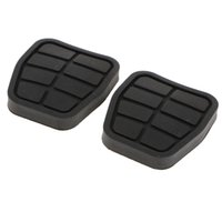 Wholesale brake pads clutch for sale - Group buy 2 Pieces Car Brake Clutch Pedal Pads
