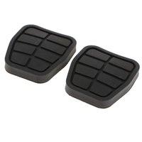 Wholesale car pedal pads resale online - 2 Pieces Car Brake Clutch Pedal Pads