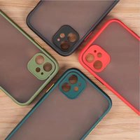 Wholesale fine iphone for sale – best Various Colors Transparent Fine Hole Contrast Frosted Phone Case for iphone pro max Xr TPU Protective Case