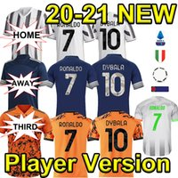 Wholesale 2020 New Player Version C RONALDO Soccer Jerseys DYBALA D COSTA Football Jerseys Thailand Palace BERNARDESCHI DE LIGT Soccer Wear