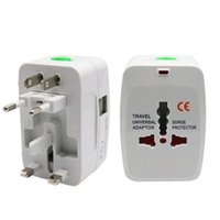 uns adapter groihandel-Cgjxs Electric Plug Power Socket-Adapter International Travel Adapter Universal Travel Buchse Power Charger Converter Uk Us Au Sy0575