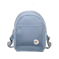 Wholesale mesh backpack new resale online - Chongsukei small fresh wild summer mesh backpack female new hollow leisure ins wind trend small backpack better than